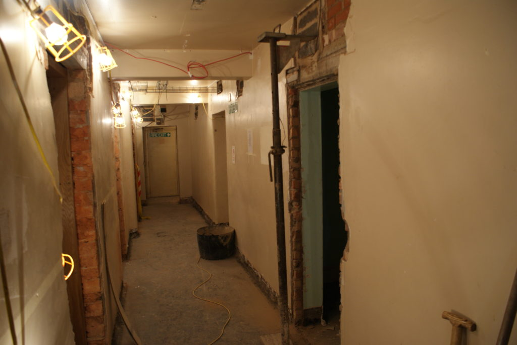 Piano School Refurbishment Progress