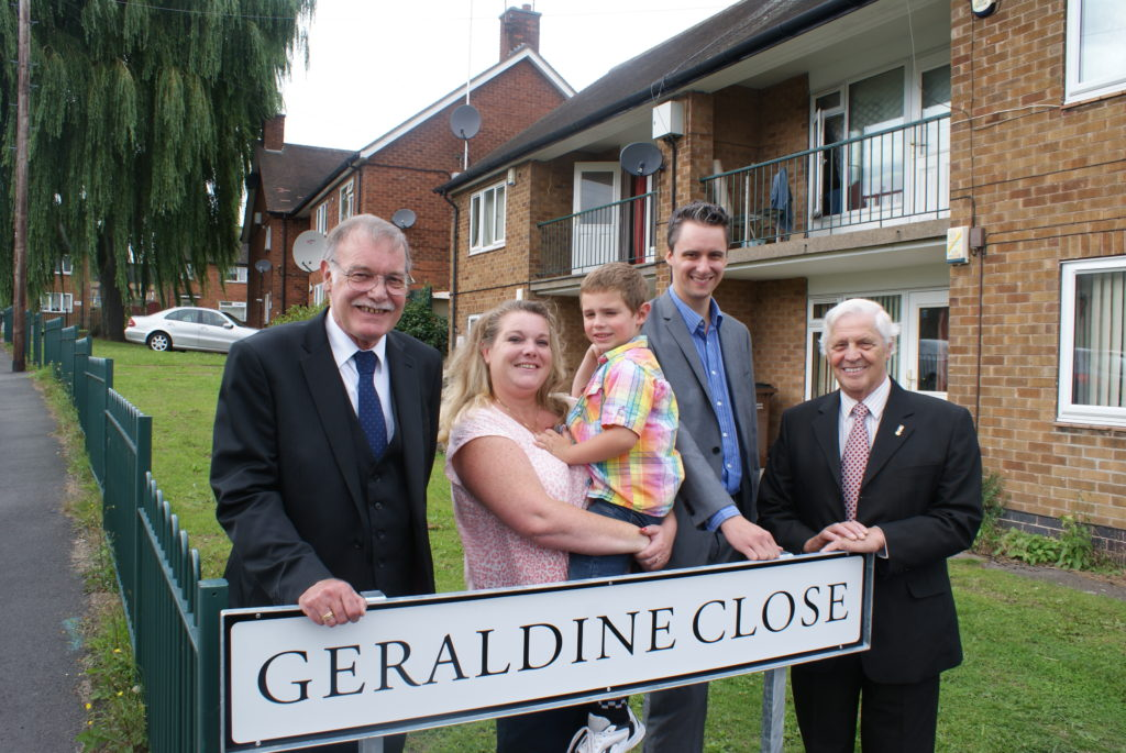 Geraldine Close Nottingham