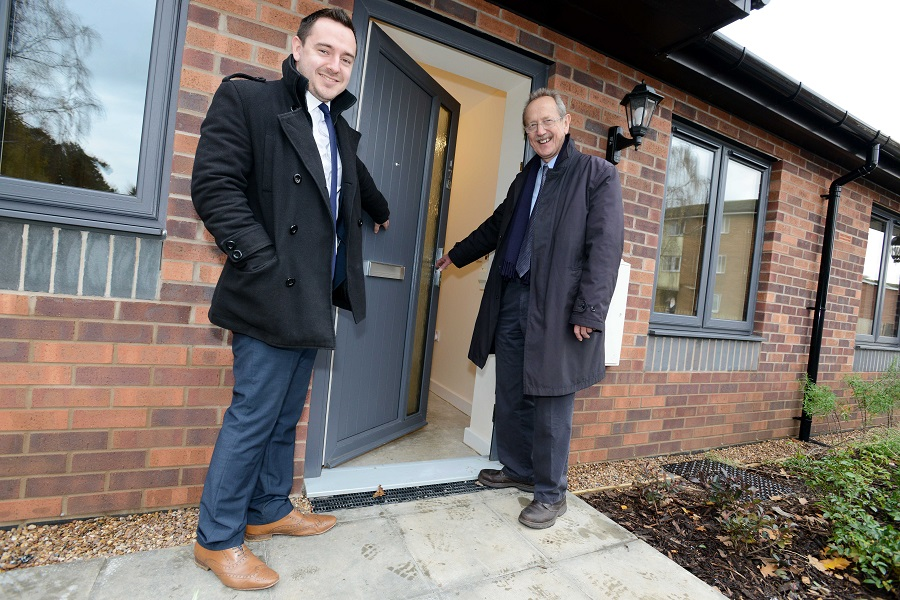 New Bungalows in Lincoln Meet Housing Need