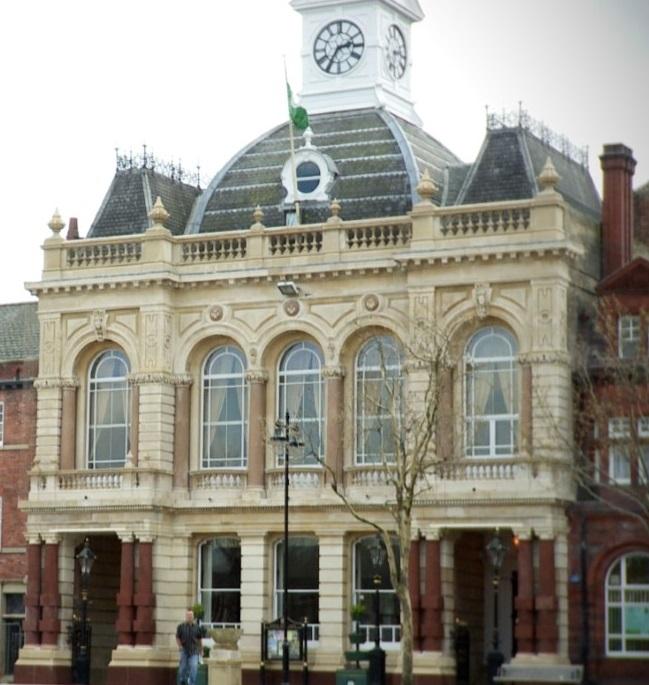 Retford Town Hall – the pride of Retford