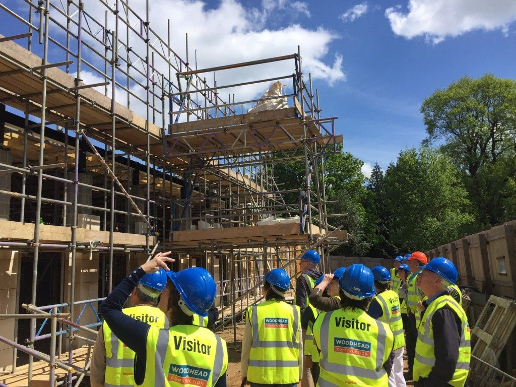 Delapre Abbey Conservation work has begun