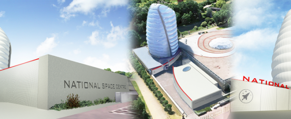 New National Space Centre Launchpad building