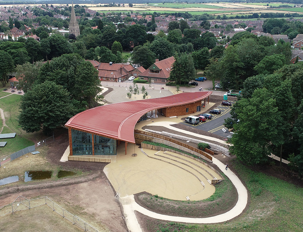 Local Is Best For Sherwood Forest Visitor Centre