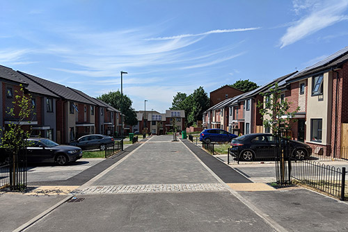 Delivering 135 new homes across 12 sites in 18 months in Nottingham