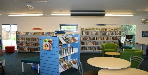 Renovation and extension to Mapperley library