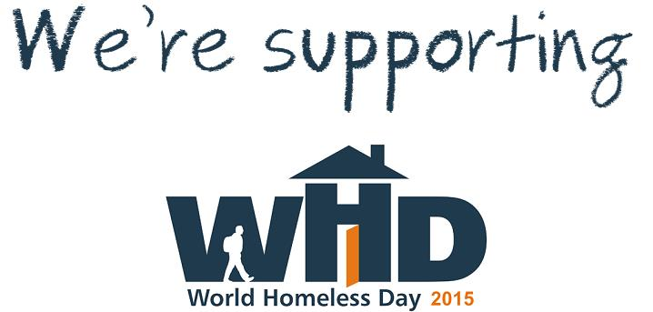 Woodhead partners with Framework for World Homeless Day