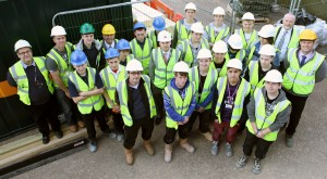Students on Site in Nottingham