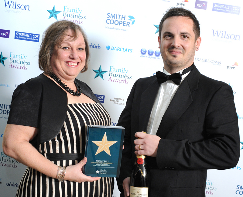 Winners At The Family Business Awards 2013