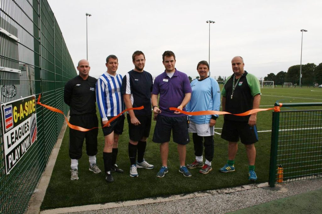 3G Football Pitch Construction Completed