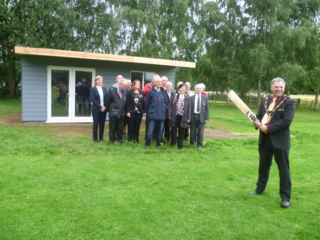 A refurbished Lincoln sports facility was formally reopened by the Mayor of Lincoln