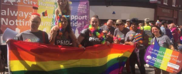 Woodhead Group Supporting Nottingham Pride