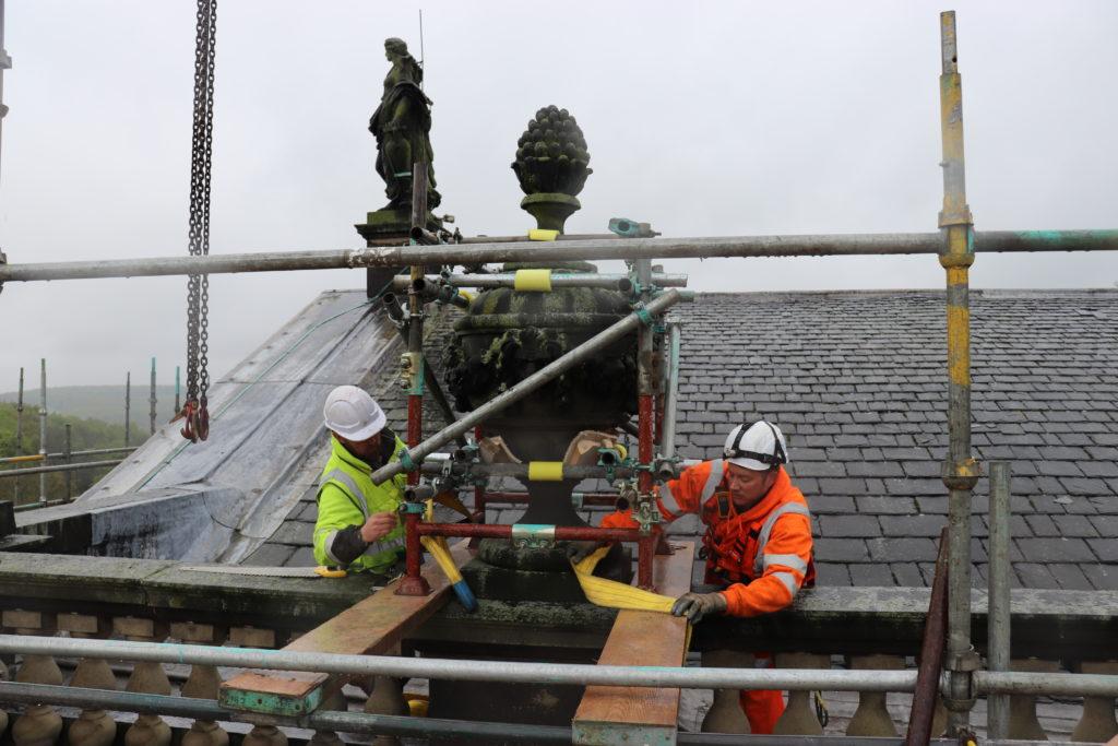 Wentworth Woodhouse Phase 2 Roof & Conservation Works