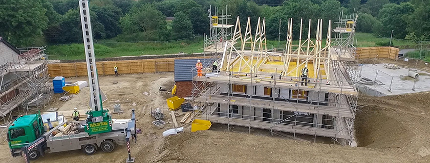 Woodhead Construction Timber Frame Projects