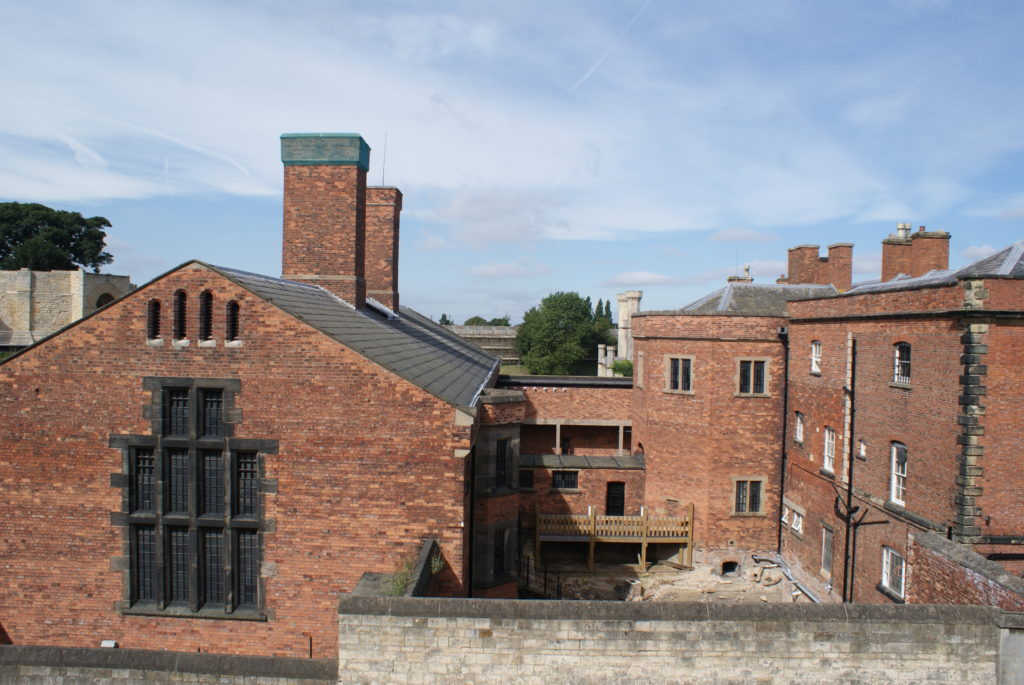 Lincoln Castle Prison works start on site