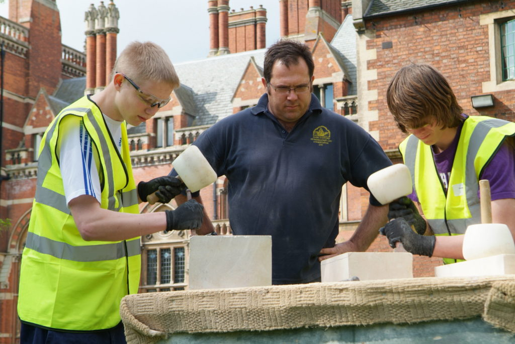Kelham Hall 5 phases of conservation works