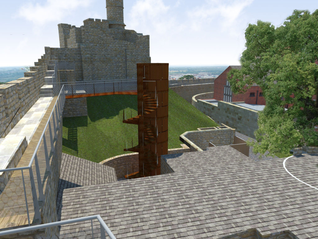 Lincoln Castle Walls Phase 2 & 3